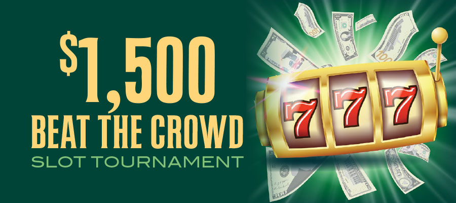 Beat he Crowd Slot Tournament