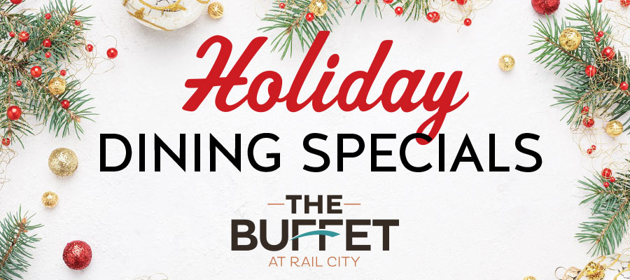 Holiday Dining Specials