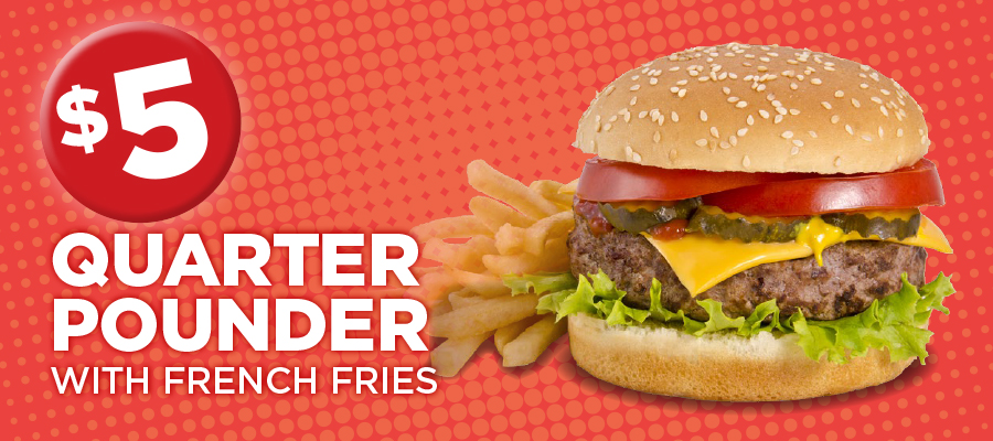 Quarter Pounder with French Fries