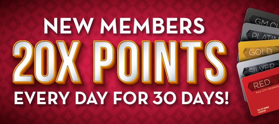 20X POINTS DAILY